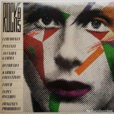 Discos de vinilo: ROCK'85. CON CEREMONIA, PANTAIX Y MÁS. VALDISC-CONSELLERIA DE CULTURA-GVA, 1985. Lote 240047400