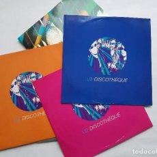 Discos de vinilo: U2. DISCOTHÈQUE. TRIPLE MAXISINGLE. ISLAND. 1997. Lote 240047925