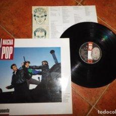 Discos de vinilo: NACHA POP EL MOMENTO LP VINILO DEL AÑO 1987 ENCARTE ANTONIO VEGA CONTIENE 10 TEMAS NACHO GARCIA VEGA. Lote 240055295