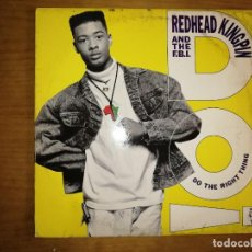 Discos de vinilo: LOTE 2 DISCOS. REDHEAD KINGPIN AND THE F.B.I-DO THE RIGHT THING Y GEORGIE DANN-MACUMBA. Lote 240075125