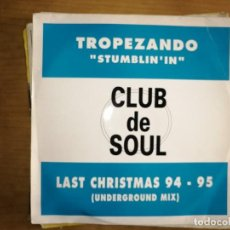 Discos de vinilo: LOTE 2 DISCOS. PAUL RUTHERFORD-I WANT YOUR LOVE Y TROPEZANDO-STUMBLIN'IN.LAST CHRISTMAS 95-95. Lote 240076205
