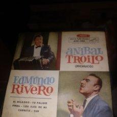 Discos de vinilo: TROYLO/RIVERO. Lote 240089620