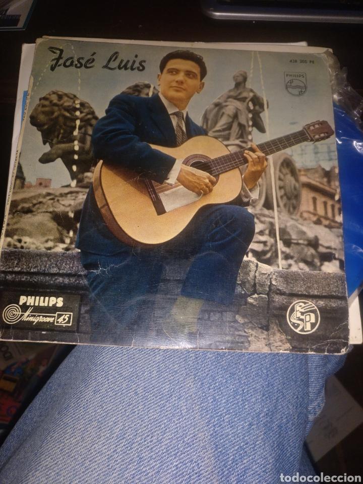 JOSÉ LUIS (Música - Discos de Vinilo - EPs - Solistas Españoles de los 50 y 60)