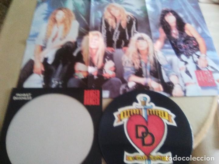 "JOYA PICTURE. LIMITED EDITION 12"" .MONKEY BUSINESS. DANGER DANGER. + POSTER GIGANTE.HEAVY METAL 1991 (Música - Discos de Vinilo - Maxi Singles - Heavy - Metal)"
