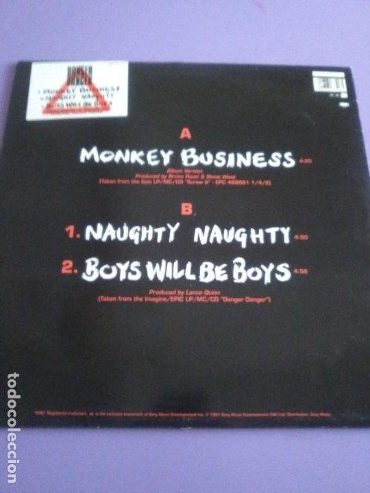 "Discos de vinilo: JOYA PICTURE. LIMITED EDITION 12"" .MONKEY BUSINESS. DANGER DANGER. + POSTER GIGANTE.HEAVY METAL 1991 - Foto 3 - 240101315"