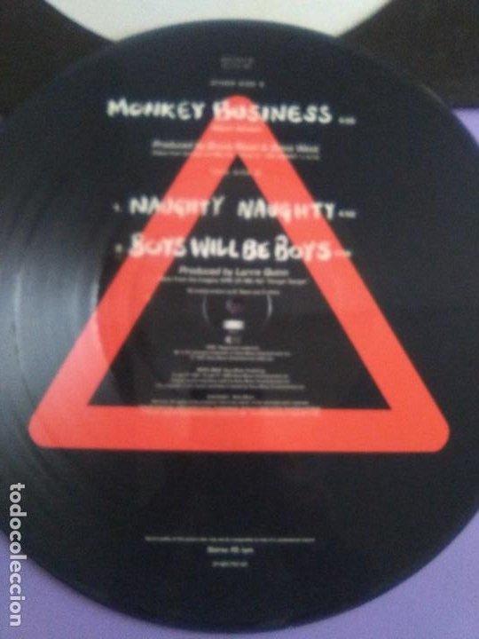 "Discos de vinilo: JOYA PICTURE. LIMITED EDITION 12"" .MONKEY BUSINESS. DANGER DANGER. + POSTER GIGANTE.HEAVY METAL 1991 - Foto 7 - 240101315"
