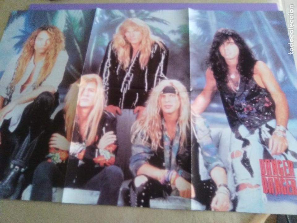 "Discos de vinilo: JOYA PICTURE. LIMITED EDITION 12"" .MONKEY BUSINESS. DANGER DANGER. + POSTER GIGANTE.HEAVY METAL 1991 - Foto 8 - 240101315"