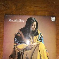 Discos de vinilo: MERCEDES SOSA. HOMENAJE A VIOLETA PARRA.. Lote 240103205