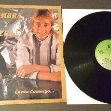 Discos de vinil: SOMBRA Y LUZ LP CANTA CONMIGO...10 TEMAS. Lote 240103695