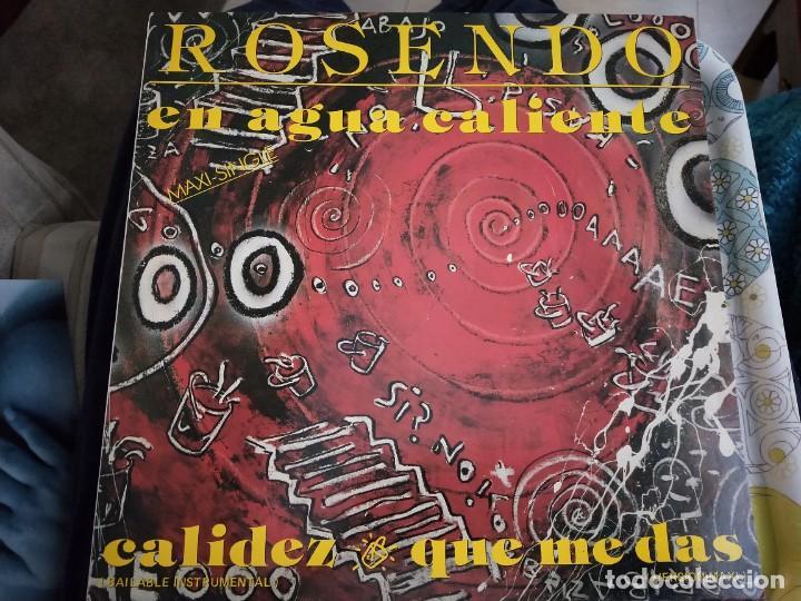 """ROSENDO - EN AGUA CALIENTE (12"""", MAXI) SELLO:RCA CAT. Nº: PT-41470. COMO NUEVO . MINT / NEAR MINT (Música - Discos de Vinilo - Maxi Singles - Solistas Españoles de los 70 a la actualidad)"""