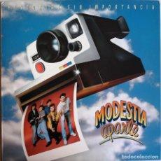 Disques de vinyle: MODESTIA APARTE-HISTORIAS SIN IMPORTANCIA, MERCURY 848572-1, 848 572-1. Lote 240162410