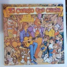Discos de vinilo: EL CUENTO QUE CANTA. LUIS AGUILE. GATEFOLD. PP 210-87. COSTA RICA 1980. DISCO VG+. CARÁTULA VG+.. Lote 240171720