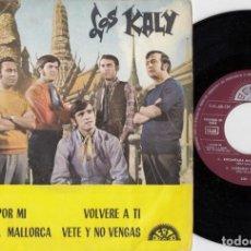 Discos de vinilo: LOS KALY - LLORARAS POR MI - EP DE VINILO - FREAKBEAT SOUL MOD. Lote 240181825