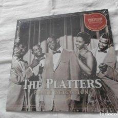 Discos de vinilo: THE PLATTERS - LP - BLACK SELECTION (SERIE PREMIUM QUALITY) 15 TEMAS - NUEVO -PRECINTADO. Lote 240190890