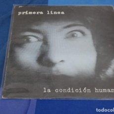 Disques de vinyle: EXPRO LP PRIMERA INEA LA CONDICON HUMANA MINI LP EN GIRA, BUEN ESTADO 1986. Lote 240194915