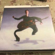 "Discos de vinilo: DAVID BYRNE 7"" (SHE IS MAD). Lote 240201025"