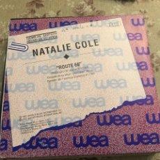 """Discos de vinilo: NATALIE COLE 7"""" (ROUTE 66). Lote 240201815"""