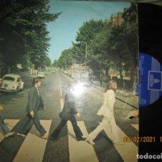 Discos de vinilo: THE BEATLES - ABBEY ROAD LP - ORIGINAL ESPAÑOL - EMI / ODEON 1969 LABEL AZUL OSCURO - STEREO -. Lote 240224305
