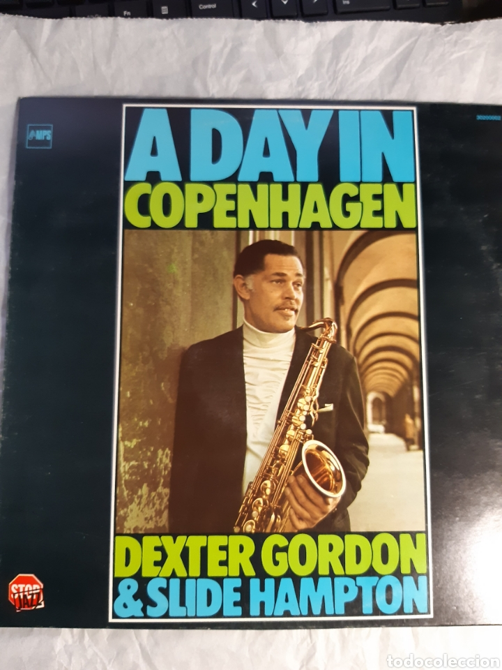 LP DEXTER GORDON AND SLIDE HAMPTON A DAY IN COPENHAGEN ( NUEVO) (Música - Discos - LP Vinilo - Jazz, Jazz-Rock, Blues y R&B)