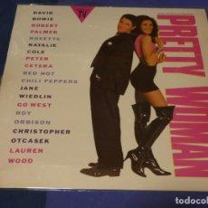 Discos de vinilo: LP BSO OST BANDA SONORA PRETTY WOMAN CORRECTO BUEN ESTADO. Lote 240245145