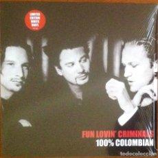 Discos de vinilo: FUN LOVIN' CRIMINALS - 100% COLOMBIAN. Lote 240250595