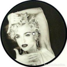 Discos de vinilo: MADONNA. VOGUE. (VINILO SINGLE 1990). Lote 240264030