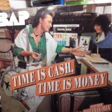 Discos de vinilo: BAP-TIME IS CASH,TIME IS MONEY. Lote 240272005