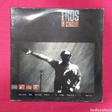 Discos de vinilo: EROS RAMAZZOTI . EROS IN CONCERT. 2 LP'S. Lote 240275485