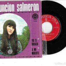 Disques de vinyle: SINGLE DISCOTECA PAX DISCOGRAFIA DE ASUNCION SALMERON. Lote 240276005