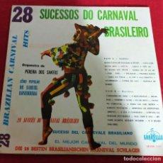 Discos de vinilo: 28 SUCESSOS DO CARNAVAL BRASILEIRO - LP. Lote 240363830