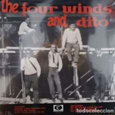 Discos de vinilo: THE FOUR WINDS AND DITO - TIJUANA - - LP DE 10 PULGADAS 25 CM NUEVO Y PRECINTADO. Lote 240413840