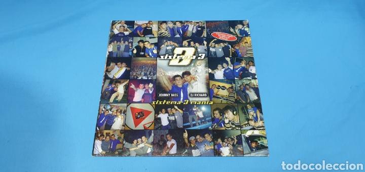 DISCO DE VINILO - SISTEMA 3 - SISTEMA 3 MANÍA (Música - Discos de Vinilo - Maxi Singles - Pop - Rock Internacional de los 90 a la actualidad)