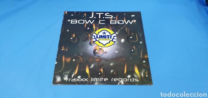 """DISCO DE VINILO - J.T.S. """"BOW C BOW"""" - TRAXXX LIMITE RECORDS (Música - Discos de Vinilo - Maxi Singles - Pop - Rock Internacional de los 90 a la actualidad)"""