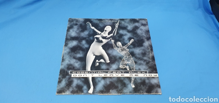 DISCO DE VINILO - ESSENTIAL FEAT. ALEX - DON'T LEAVE ME NOW (Música - Discos de Vinilo - Maxi Singles - Pop - Rock Internacional de los 90 a la actualidad)