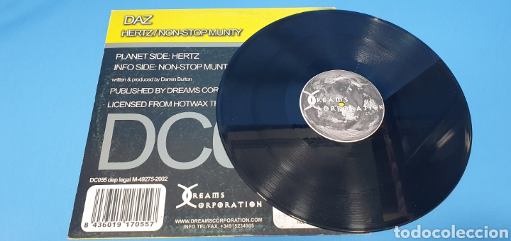 Discos de vinilo: DAZ HERTZ - NON STOP MUNTY - Foto 4 - 240425800