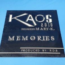 Discos de vinilo: DISCO DE VINILO - KAOD 2010 - PRESENTS MARY-K. - MEMORIES. Lote 240427355