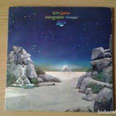 Discos de vinilo: YES -TALES FROM TOPOGRAPHIC OCEANS- DOBLE LP ATLANTIC 1974 ED. ESPAÑOLA 500-59 BUENAS CONDICIONES.. Lote 240427430