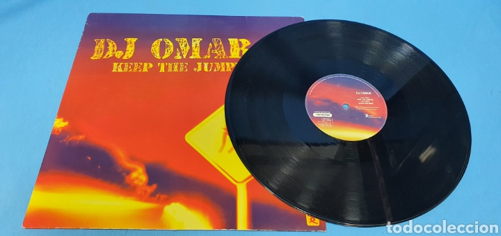 Discos de vinilo: DISCO DE VINILO - DJ OMAR - KEEP THE JUMPER - Foto 2 - 240431380