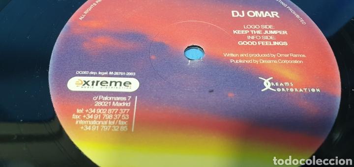 Discos de vinilo: DISCO DE VINILO - DJ OMAR - KEEP THE JUMPER - Foto 3 - 240431380