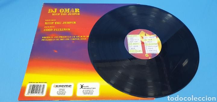 Discos de vinilo: DISCO DE VINILO - DJ OMAR - KEEP THE JUMPER - Foto 4 - 240431380