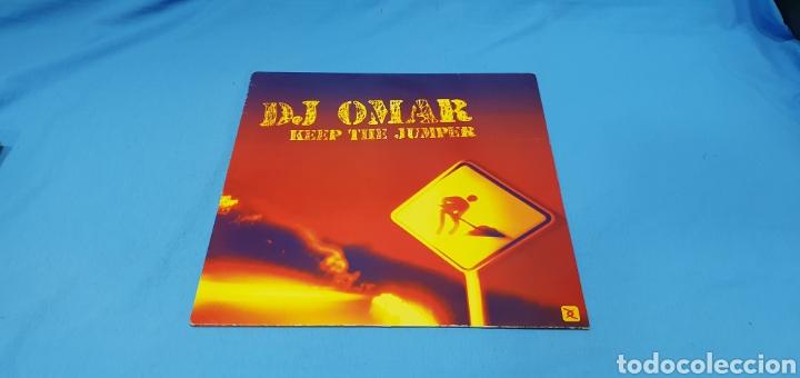 DISCO DE VINILO - DJ OMAR - KEEP THE JUMPER (Música - Discos de Vinilo - Maxi Singles - Pop - Rock Internacional de los 90 a la actualidad)