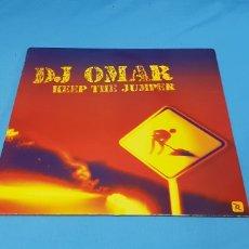 Discos de vinilo: DISCO DE VINILO - DJ OMAR - KEEP THE JUMPER. Lote 240431380
