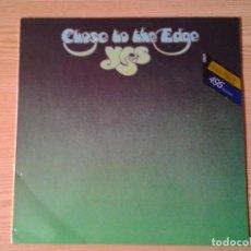 Discos de vinilo: YES -CLOSE TO THE EDGE- LP ATLANTIC REEDICION WEA 1982 ED. ESPAÑOLA -COPIA PROMOCIONAL - 50012. Lote 240432300