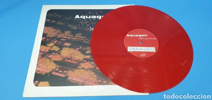 Discos de vinilo: DISCO DE VINILO - AQUAGEN - HARD TO SAN IM SORRY - Foto 2 - 240438150