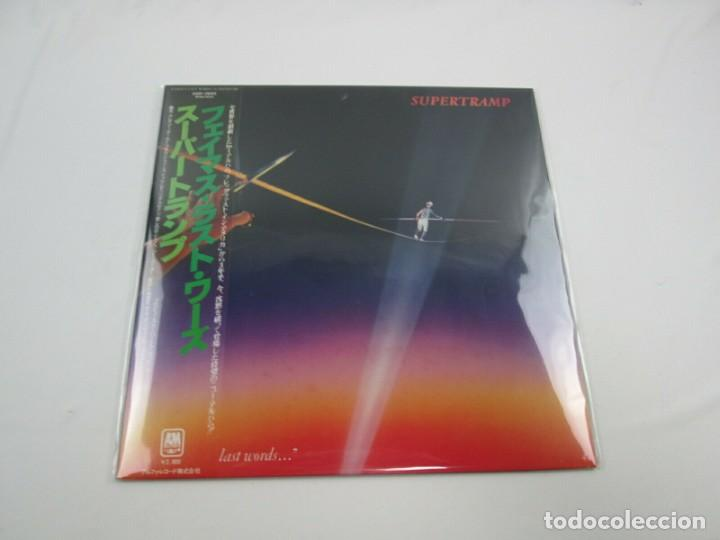 VINILO EDICIÓN JAPONESA DEL LP DE SUPERTRAMP FAMOUS LAST WORDS...... (Música - Discos - LP Vinilo - Pop - Rock - New Wave Internacional de los 80)