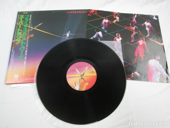 Discos de vinilo: VINILO EDICIÓN JAPONESA DEL LP DE SUPERTRAMP FAMOUS LAST WORDS...... - Foto 4 - 240477980