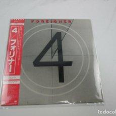 Discos de vinilo: VINILO EDICIÓN JAPONESA DEL LP DE FOREIGNER 4. Lote 240479340