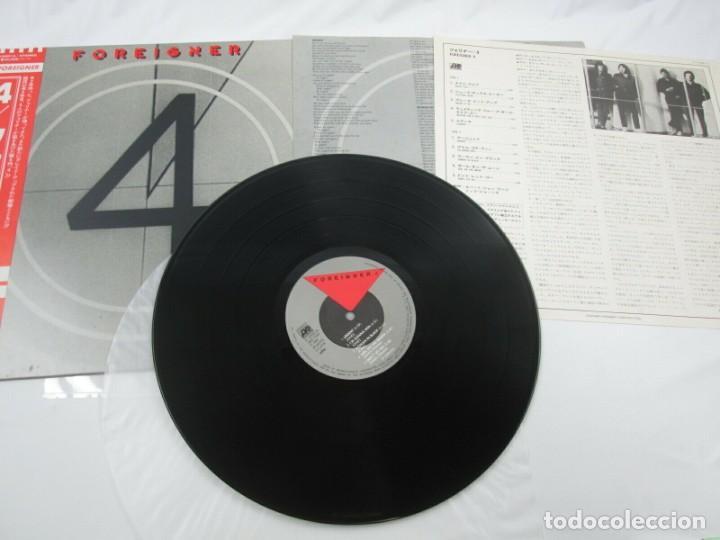 Discos de vinilo: VINILO EDICIÓN JAPONESA DEL LP DE FOREIGNER 4 - Foto 5 - 240479340