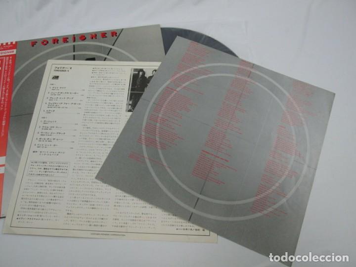 Discos de vinilo: VINILO EDICIÓN JAPONESA DEL LP DE FOREIGNER 4 - Foto 6 - 240479340