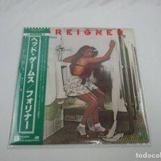 Discos de vinilo: VINILO EDICIÓN JAPONESA DEL LP DE FOREIGNER HEAD GAMES. Lote 240480105